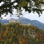 Руины замка Ehrenberg